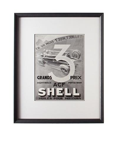 Original French Advertisement by Geo Ham, 1934