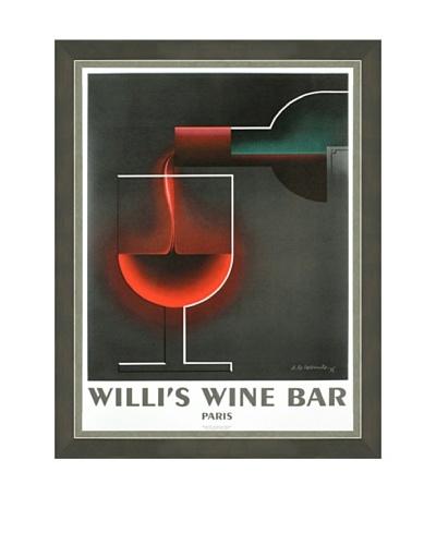 A.M. Cassandre: Willi's Wine Bar