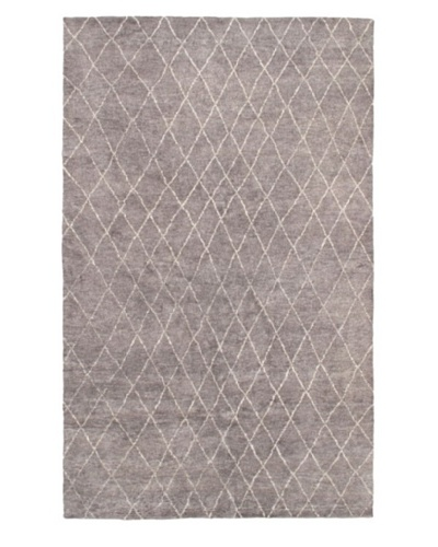 Hand-Knotted Marrakech Rug, Gray, 7'1 x 11' 6