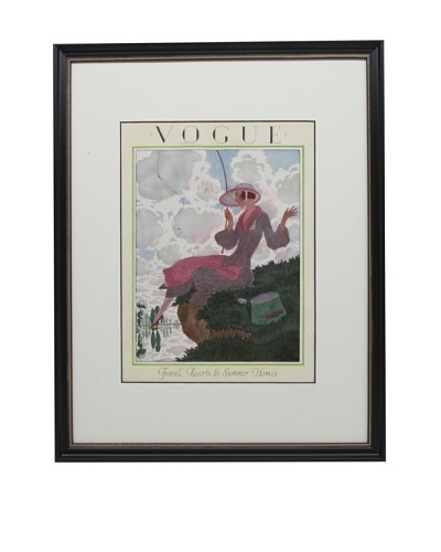 Original Vogue Cover from 1923 by Pierre Brissaud