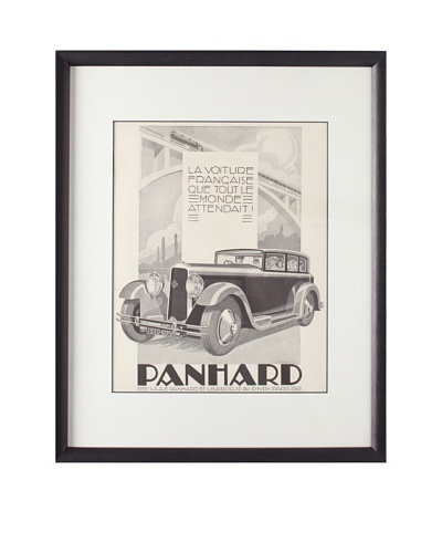 Original French Advertisement by A. Kow, 1929