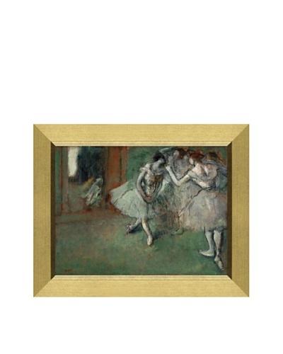 Edgar Degas A Group of Dancers, 1890 Framed Canvas, 18 x 24