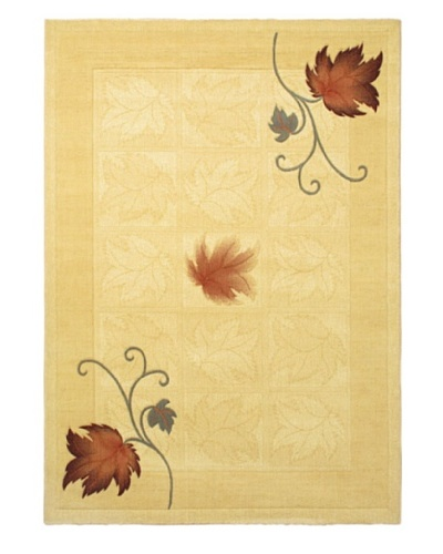 "Royale Modern Rug, Light Yellow, 5' 7"" x 7' 10"""