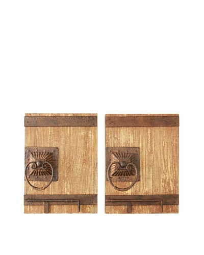 Set of 2 Door Knocker Wall Décor