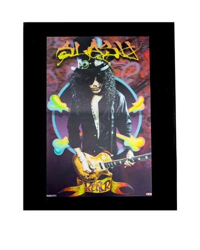 Slash Framed 3-D Hologram Poster