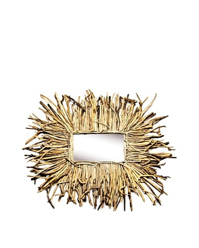 Large Driftwood Mirror, Natural
