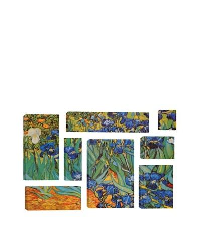 Vincent Van Gogh Irises 8-Piece Giclée Canvas Print