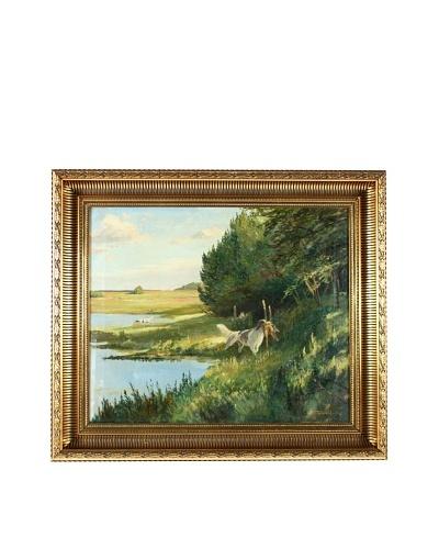 English Impressionism Framed Artwork