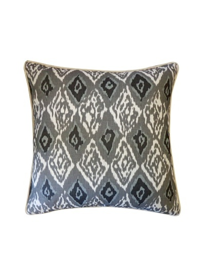 Plu Throw Pillow, Grey