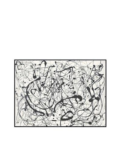 Jackson Pollock Number 14: Gray