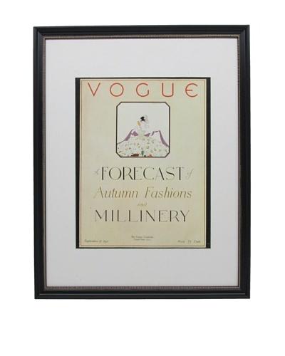 Original Vogue Cover from 1921 by Reinaldo Luza