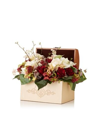 Hydrangea Rose Bouquet Box