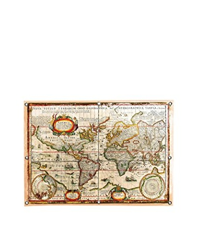 Vintage-Inspired Map by Maximilian San Canvas Print