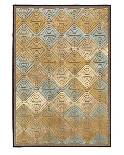 Braque Rug, Light Blue/Light Brown, 5' 3 x 7' 7