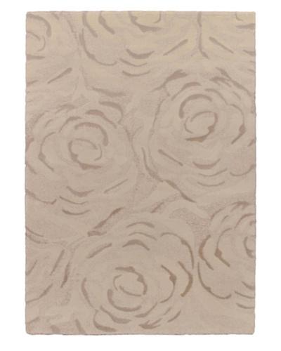 Prestige Shag Rug, Beige/Grey/White, 5' 5 x 7' 8