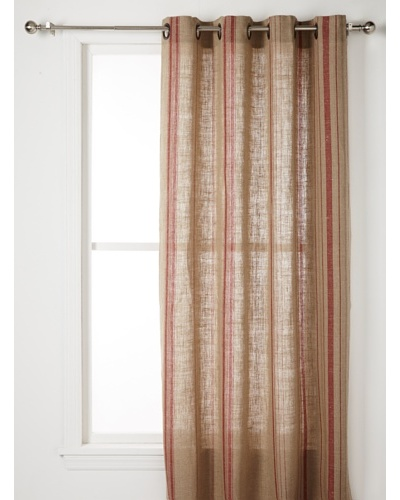 Pure Linen Stripe Panel