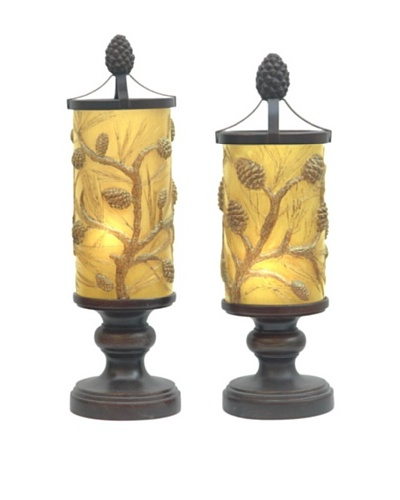 Autumn'S Light Accent Lamp Set