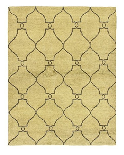 Hand-Knotted Marrakech Rug, Cream, 5' 1 x 6' 7