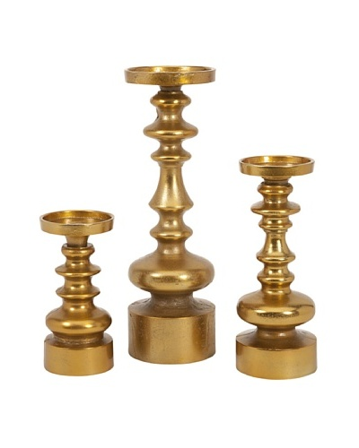 Set of 3 Karenza Candleholders