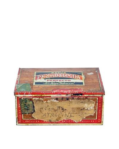 Vintage Circa 1925 Tobacco Box