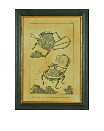 Framed Reproduction Chic French Lithographs