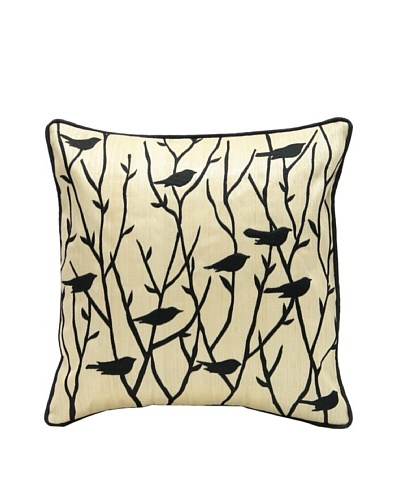 Black Bird Pillow