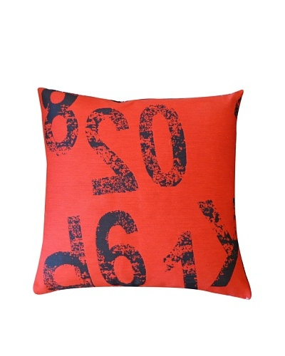 Ready Throw Pillow, Red