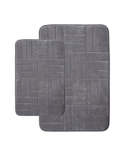 Memory Foam Bath Mat, Grey