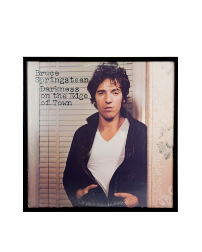 Bruce Springsteen: Darkness on the Edge of Town Framed Album CoverAs You See