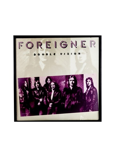 Foreigner: Double Vision Red Framed Album CoverAs You See