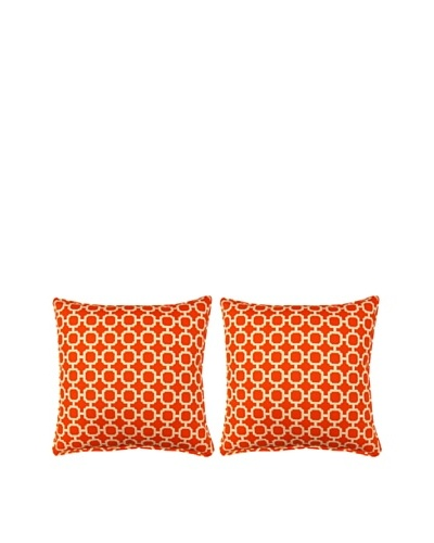 Set of 2 Hockley Pillows [Mandarin]