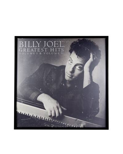 Billy Joel: Greatest Hits Vol. I & II Framed Album CoverAs You See