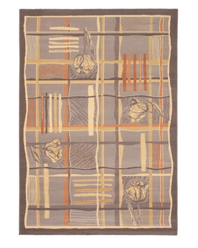 Royale Casual Rug, Dark Camel, 5' 3 x 7' 7