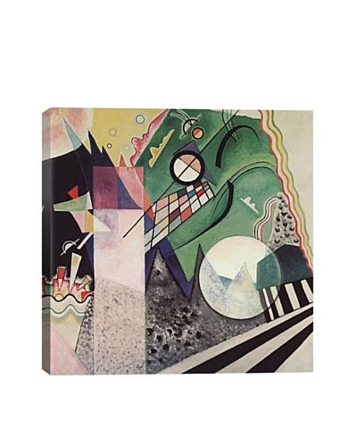 Wassily Kandinsky's Green Composition Giclée Canvas Print