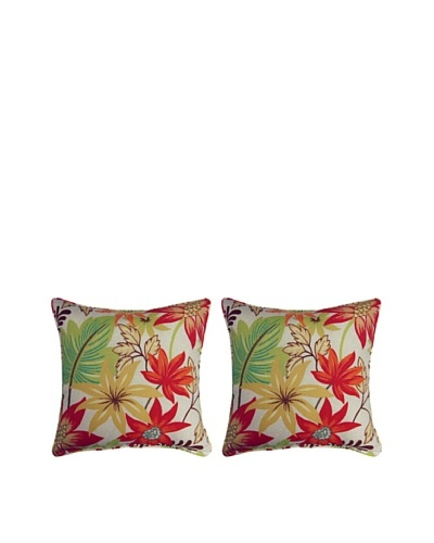 "Antigo Set of 2 Corded 17"" Pillows"
