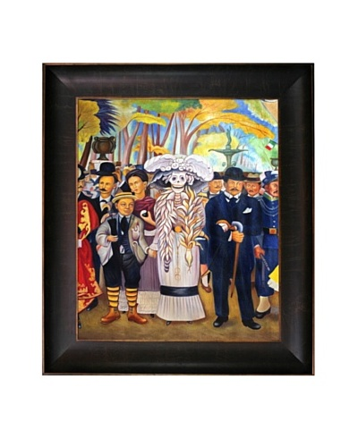 "Diego Rivera's ""The Kid"" Framed Reproduction Oil Painting"