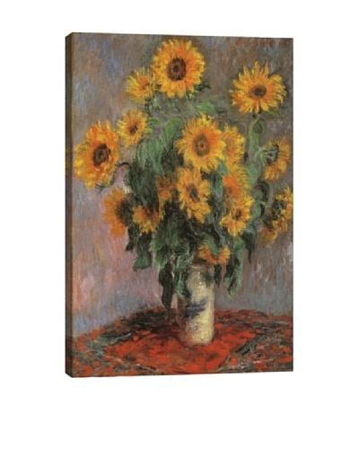 Claude Monet's Sunflowers (1889) Giclée Canvas Print
