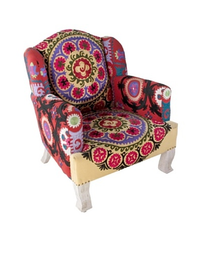 Suzani Arm Chair, Multi