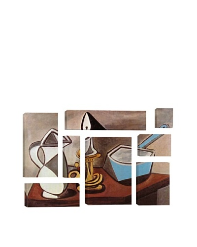 Pablo Picasso Pitcher, Candle and Casserole 8-Piece Giclée Canvas Print
