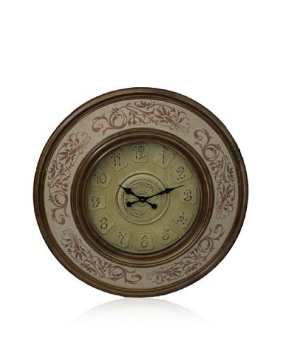 Wall Clock [Light Brown]