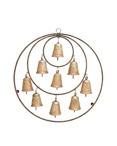 Metal Bell Wall Hanging