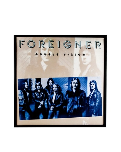 Foreigner: Double Vision Blue Framed Album CoverAs You See