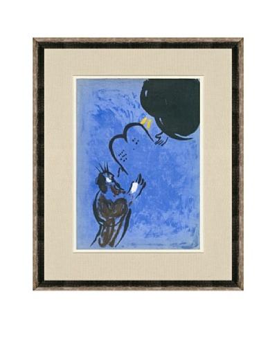 Marc Chagall: Moses Receiving The Ten Commandments
