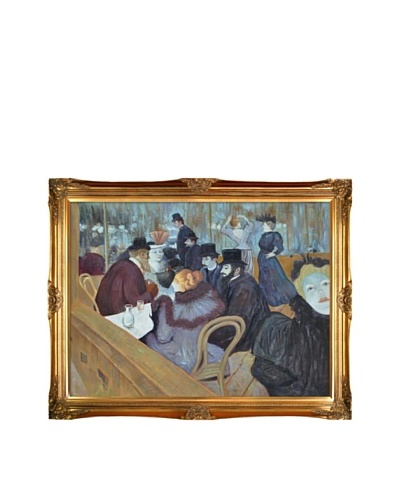 Toulouse Lautrec: At the Moulin Rouge, 1892As You See