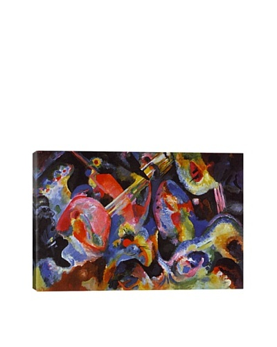 Wassily Kandinsky's Flood Improvisation Giclée Canvas Print