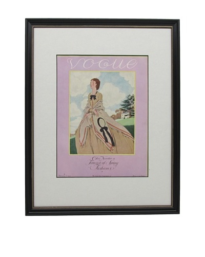 Original Vogue Cover from 1926 by Pierre Brissaud