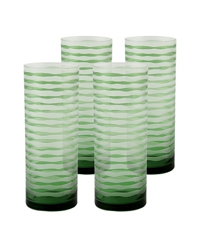 Set of 4 Vienna Highball Glasses