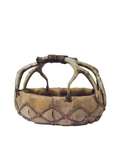Cocobark Horn Basket