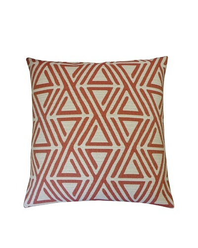 Zuhul Throw Pillow, Red