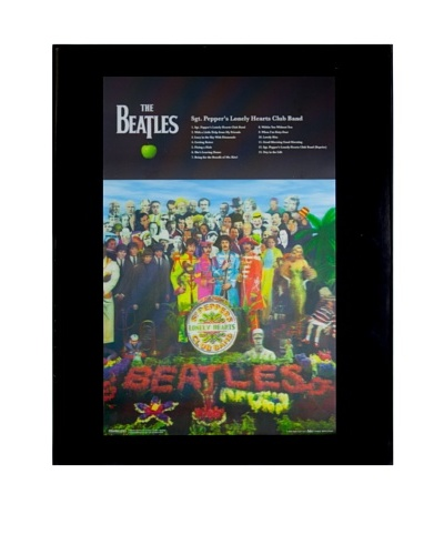 The Beatles Sgt. Pepper Framed 3-D Hologram Poster